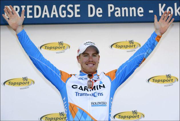 Tyler Farrar wins stage 3a, Three Days of De Panne 2010