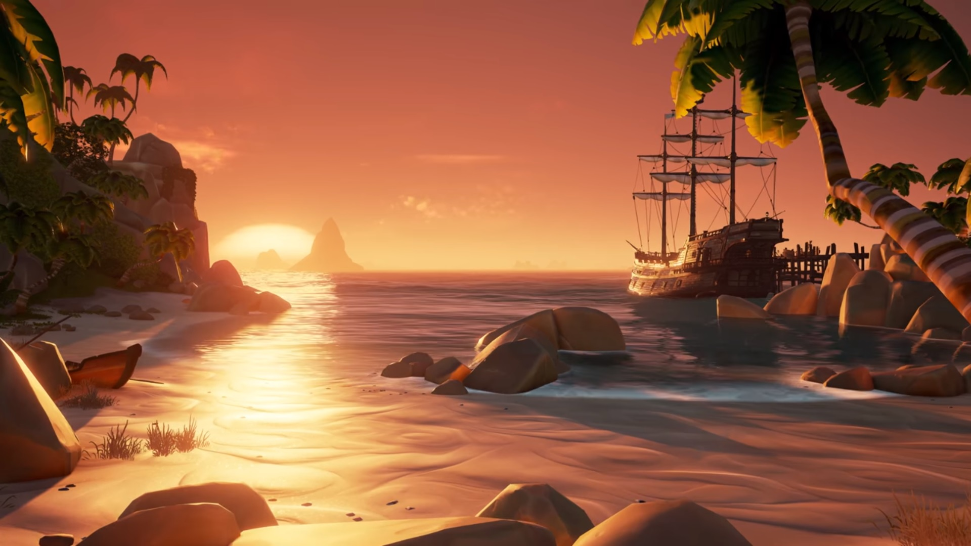 Sea Of Thieves Release Date Set Pc Gamer