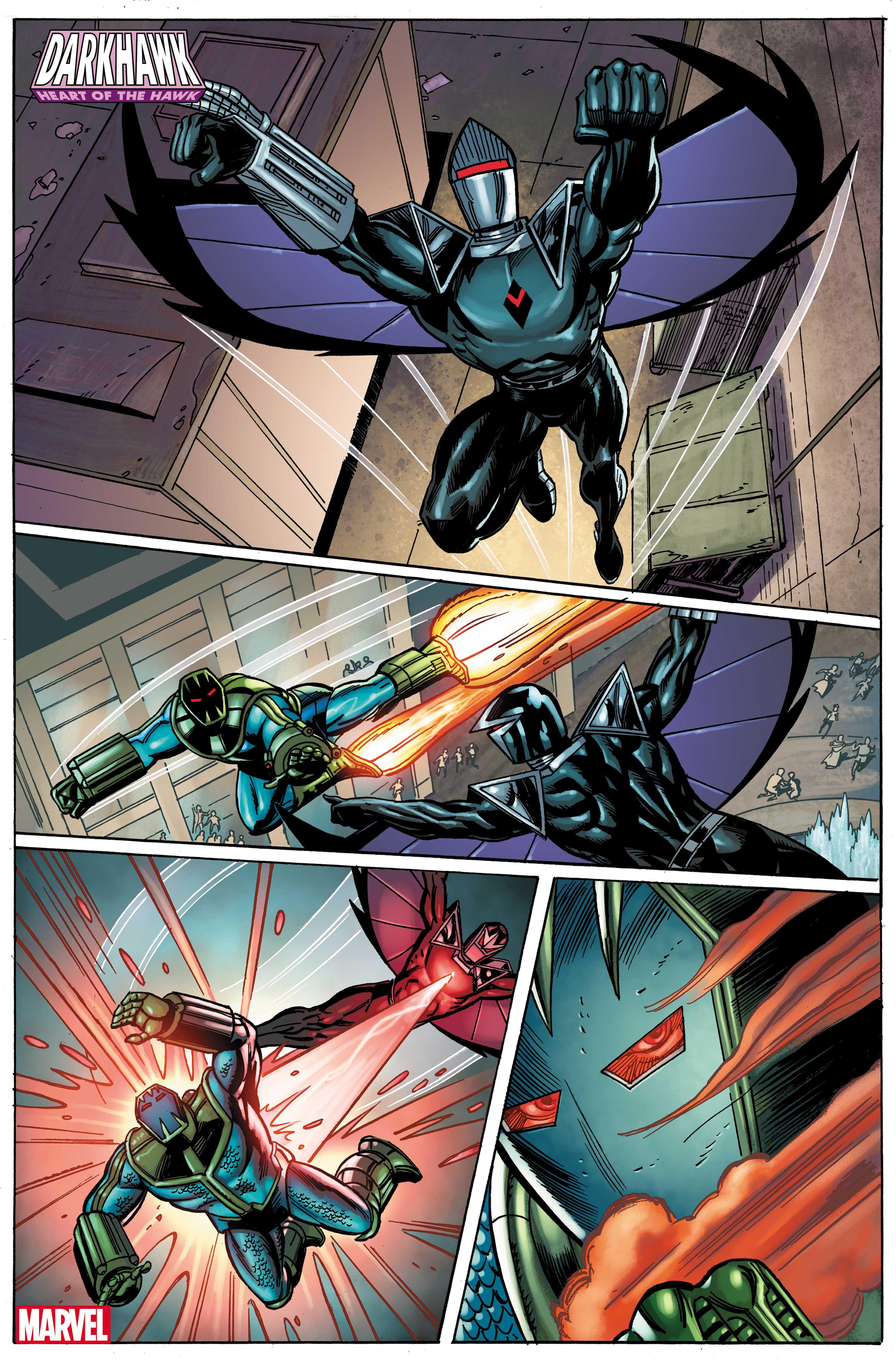 Darkhawk: Heart of the Hawk # 1