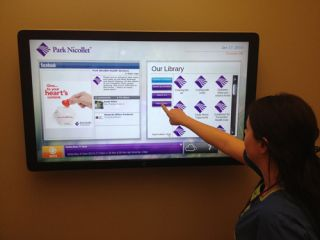 X2O Media Powers Digital Signage at Park Nicollet Clinic