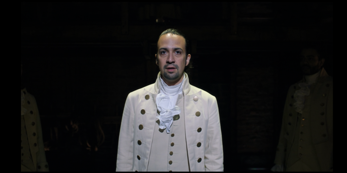 Lin-Manuel Miranda as Alexander Hamilton in Hamilton