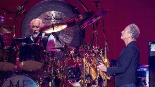 Mick Fleetwood and Lindsey Buckingham