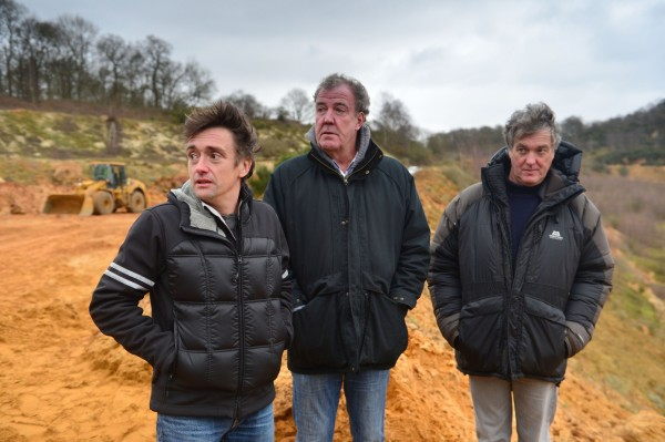 Jeremy Clarkson, James May and Richard Hammond (Ellis O'Brien/BBC)