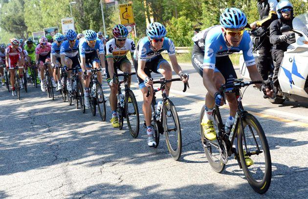 Garmin-Barracuda chase, Giro d'Italia 2012, stage five