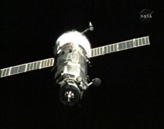Space Station Crew Welcomes New Cargo Ship