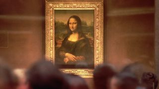 """Da Vinci's """"Mona Lisa"""" is thought to be a portrait of Lisa Gherardini, the wife of a Florentine cloth merchant."""