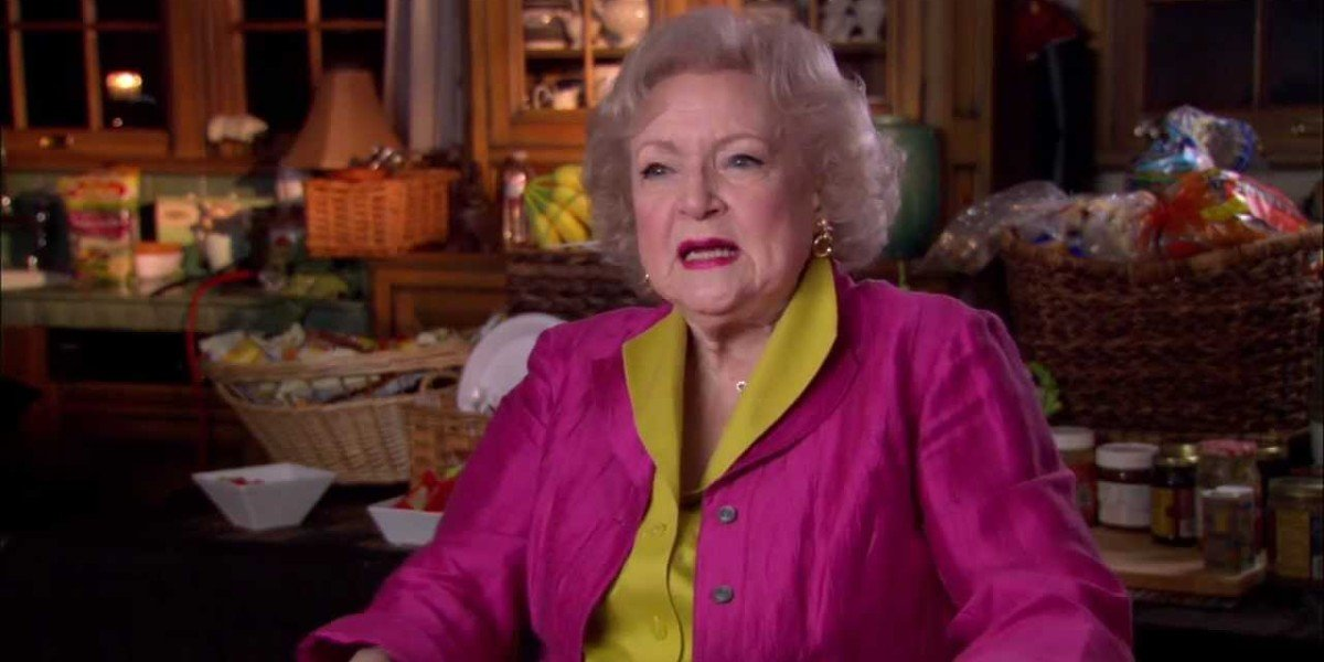 "Screenshot from ""Betty White 90th Birthday Tribute - Interview with Betty"" on YouTube"