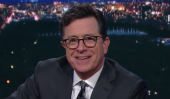 Watch Stephen Colbert Hilariously Recreate His Last Day At The Daily Show