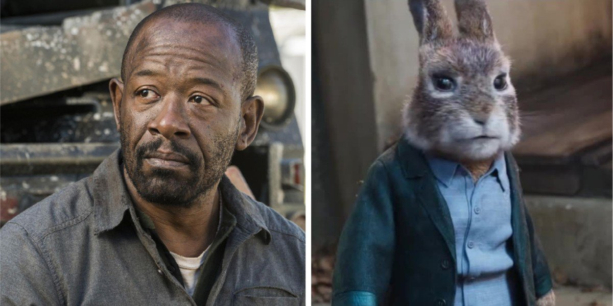 Lennie James - Fear the Walking Dead/ Barnabas from Peter Rabbit 2: The Runaway
