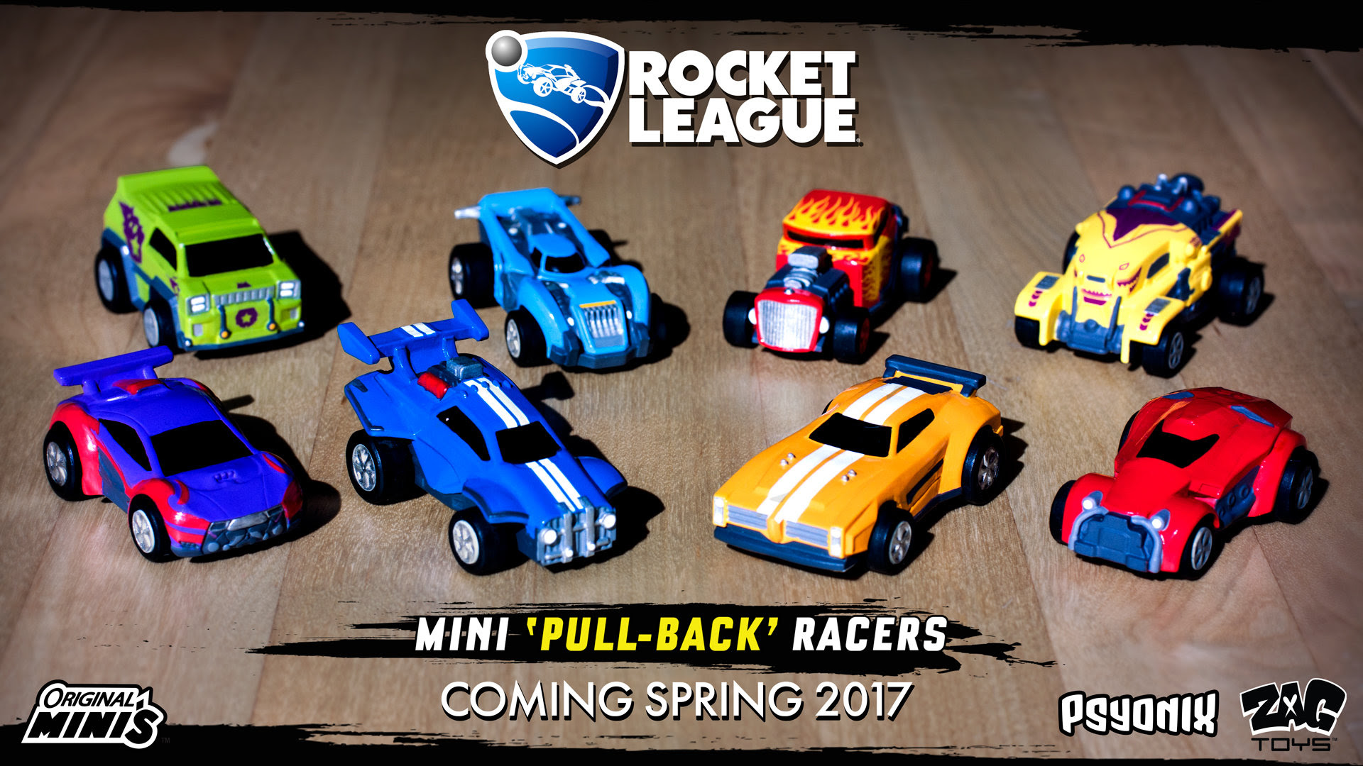 Rocket League is ting a line of toy cars