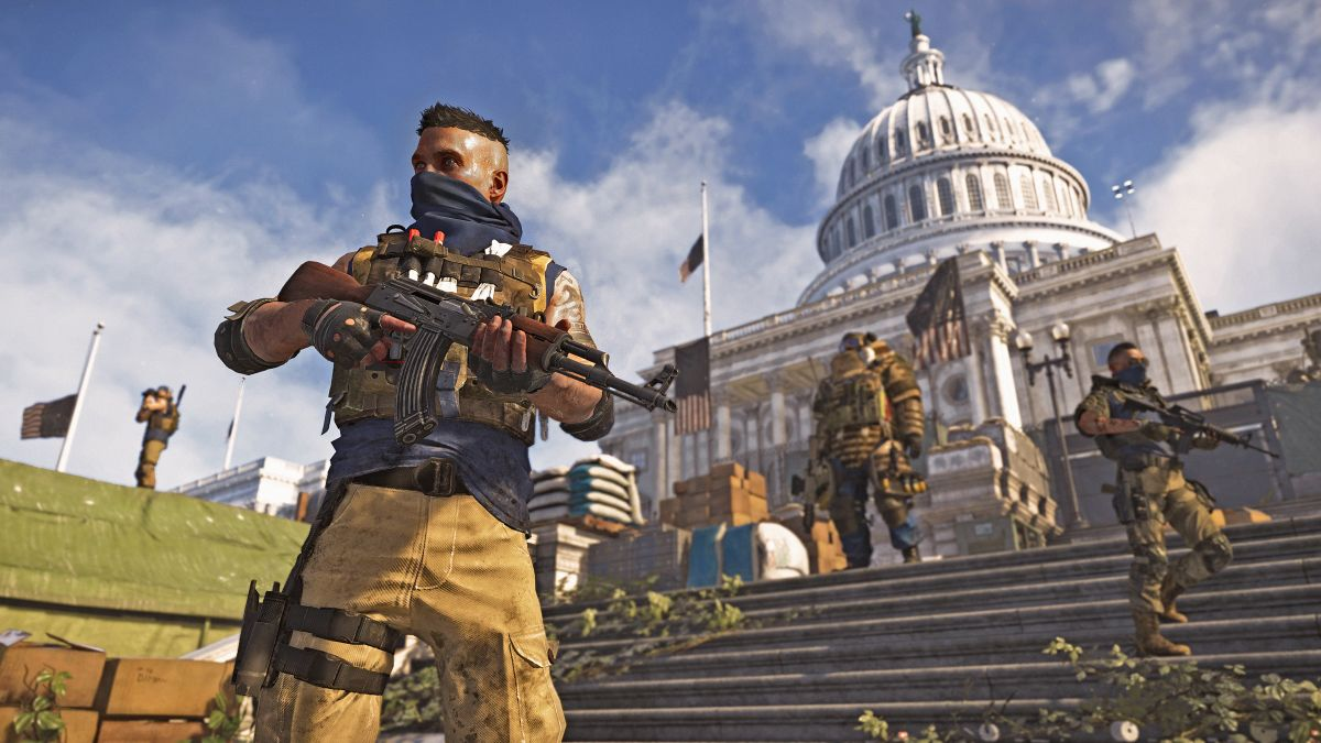 Division 2's install size on PS4 is absolutely massive