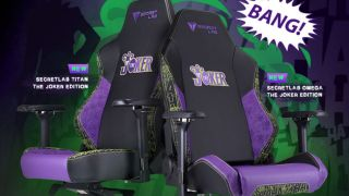 This new Joker Edition Secretlab chair lets you take a bit of Gotham home with you