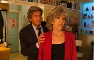 Audrey (Sue Nichhols) Lewis (Nigel Havers)