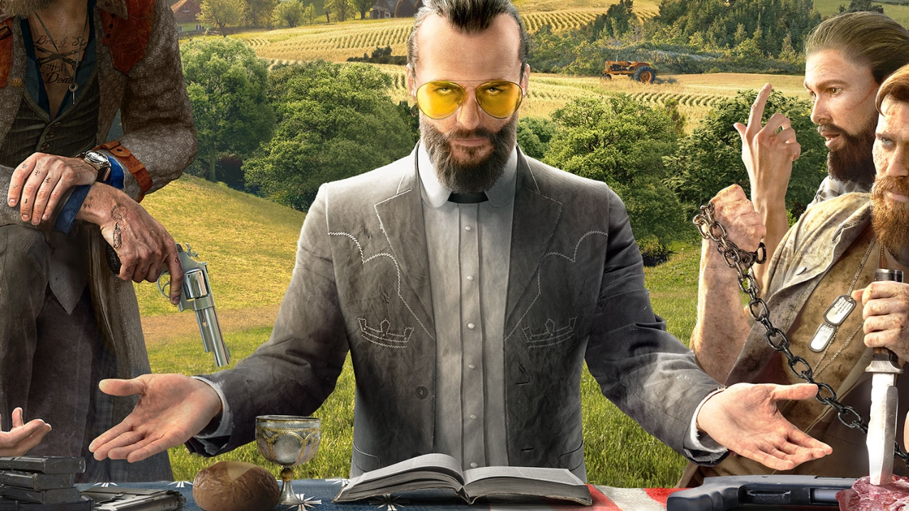 Far Cry 5 S Dan Hay On Creating Villains And Making A Shooter Where The Cultist Plot Could All Too Easily Easily Be A Headline Gamesradar