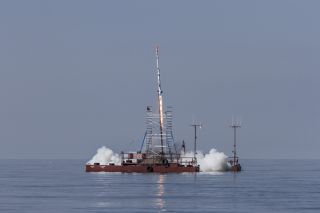 Copenhagen Suborbitals Launches SMARAGD-1 Rocket