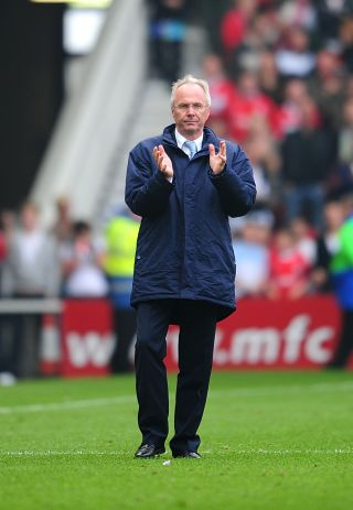 Sven-Goran Eriksson was in charge for just one season at Manchester City