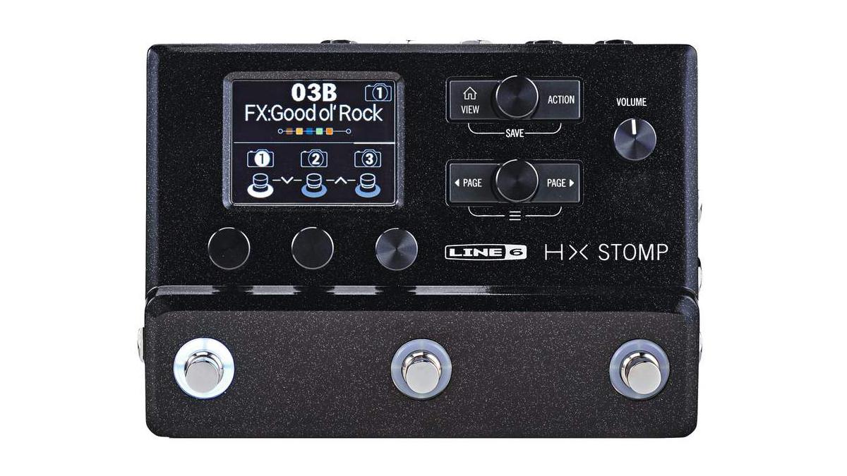 Line 6 HX Stomp review | MusicRadar
