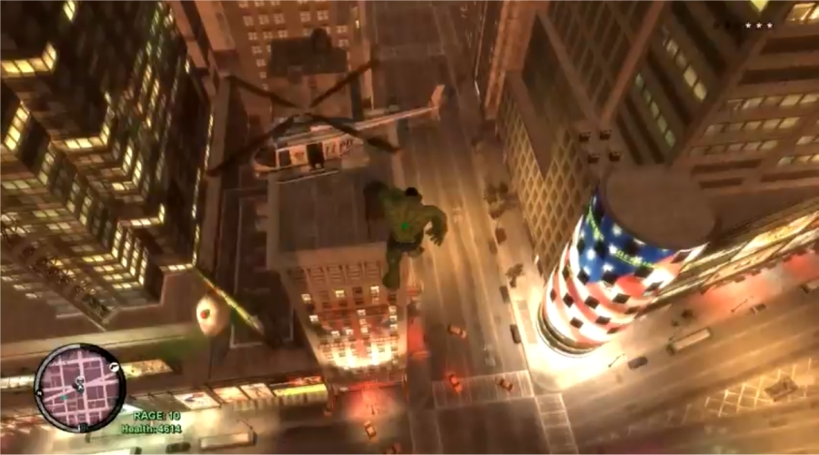 Hulk Smashes In GTA IV With Updated Mod - CINEMABLEND