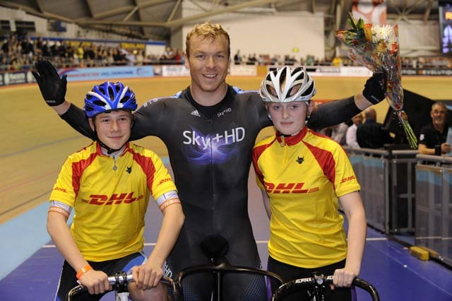 dhl sprint school chris hoy