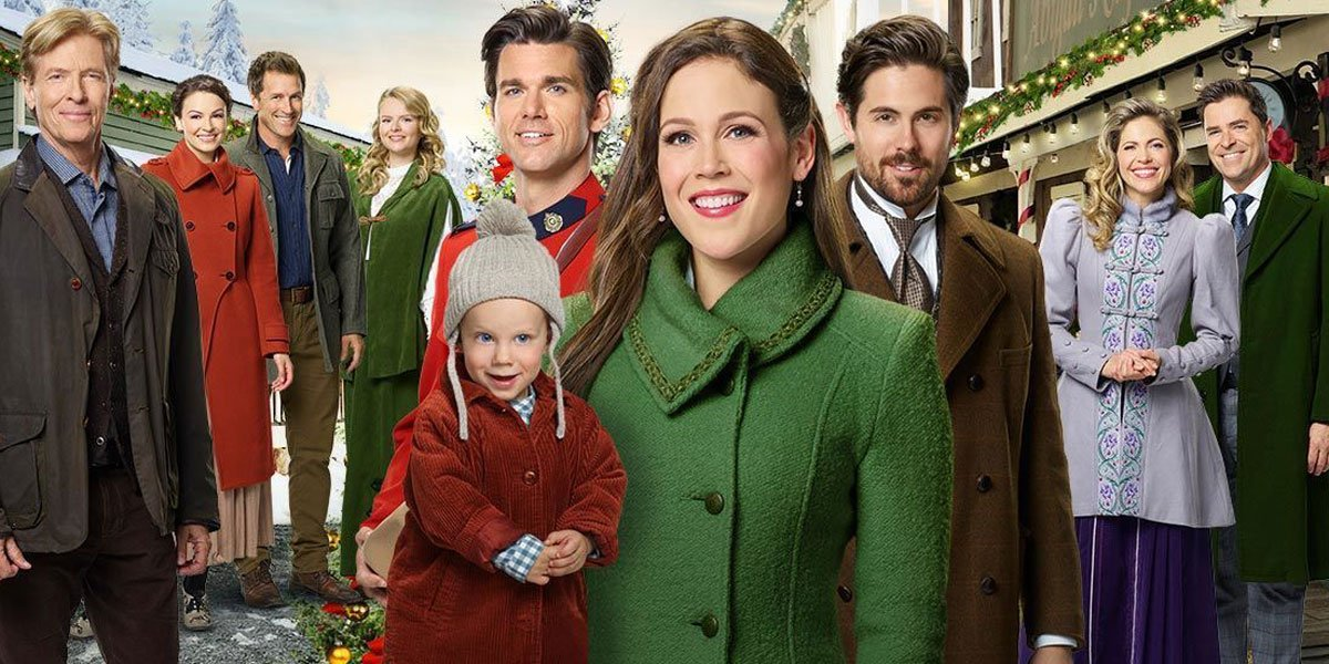 Last year's When Calls The Heart Christmas Movie Poster 2019