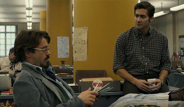 Robert Downey Jr. and Jake Gyllenhaal in Zodiac