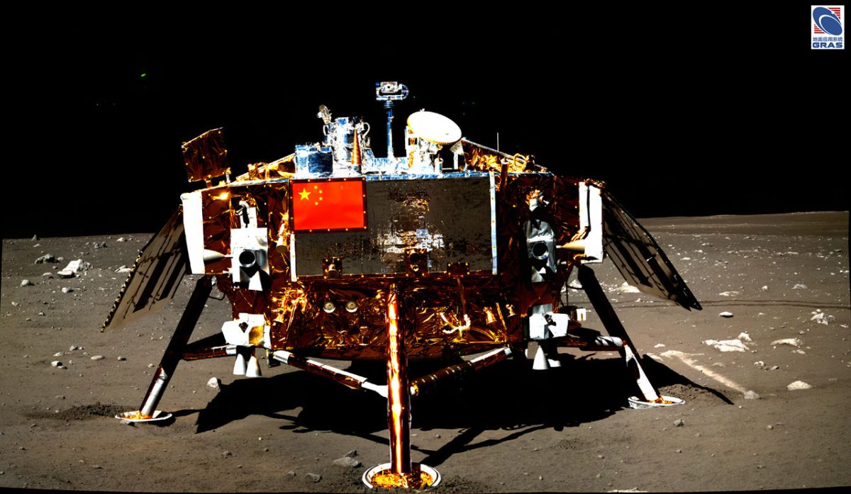 China's Chang'e 3 lunar lander still going strong after 7 years on the moon