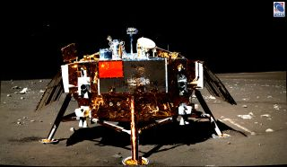 chang'e 3 lunar lander