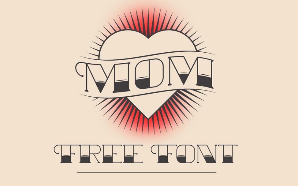 Best free fonts: MOM
