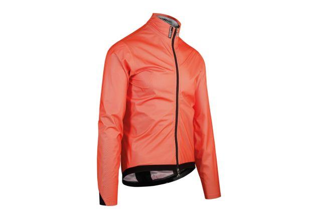 Piu Miglia Mens Cycling Rain Jacket White Lightweight Water Repellent Bike Cycle