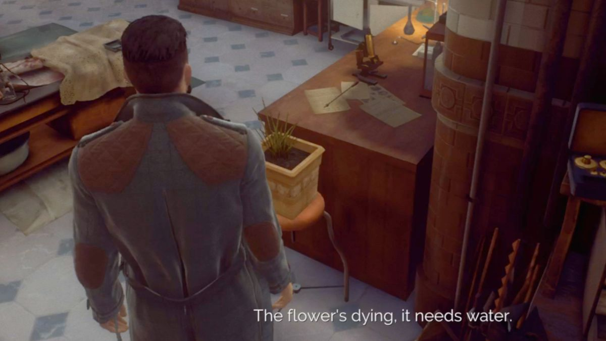 How to water the plant in Vampyr and earn the Life Is Unstrange Trophy