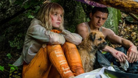 Daisy Ridley and Tom Holland in 'Chaos Walking'.