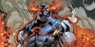 Darkseid from the DC Comics