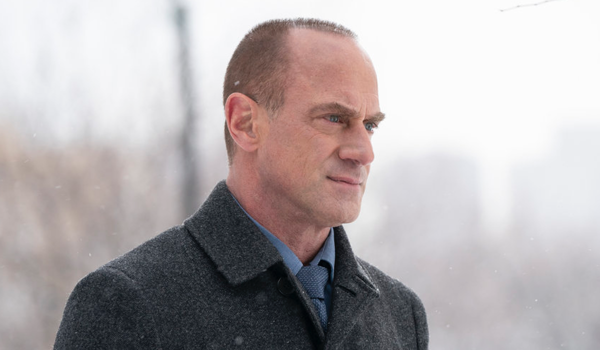 christopher meloni's elliot stabler outdoors in law and order: organized crime