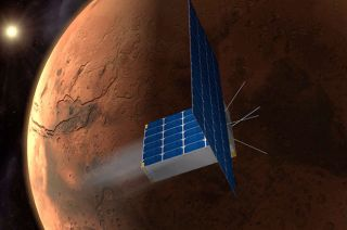 Time Capsule to Mars Cubesat