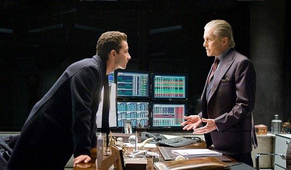 Shia LaBeouf Michael Douglas Wall Street: Money Never Sleeps
