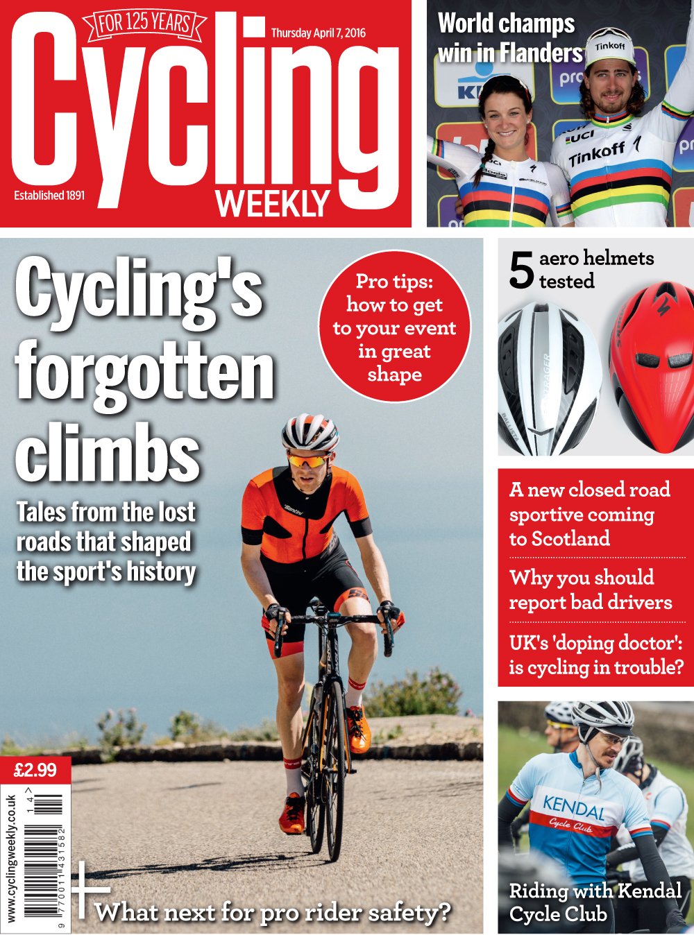 Cycling Weekly magazine April 7 2016 issue