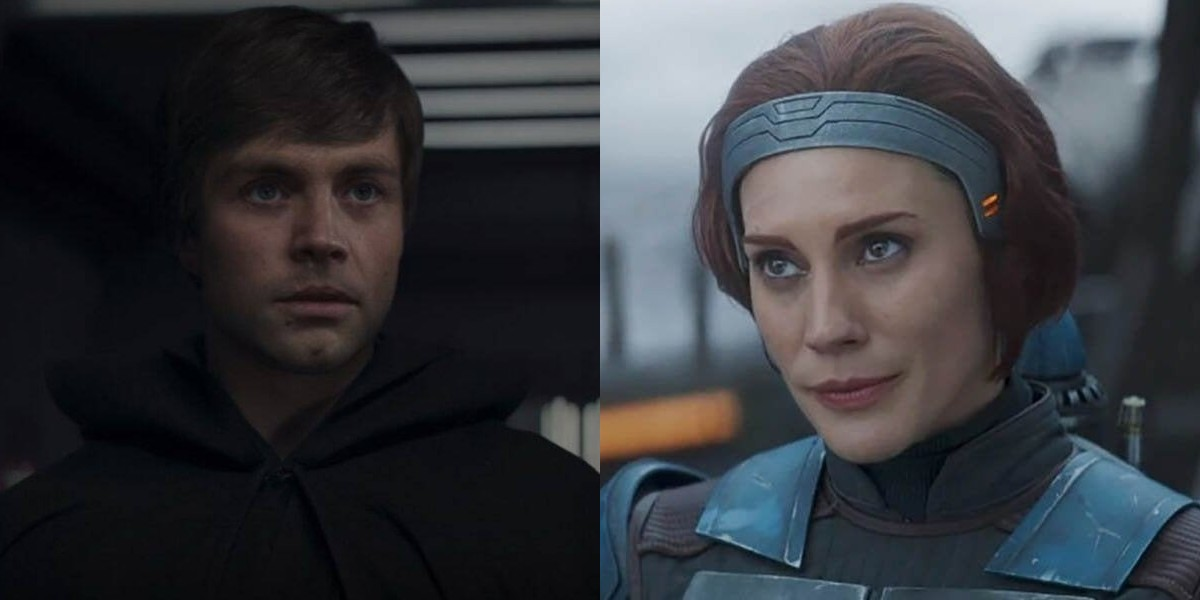 Star Wars' Mark Hamill And Katee Sackhoff Have Sweet Exchange Over The Mandalorian