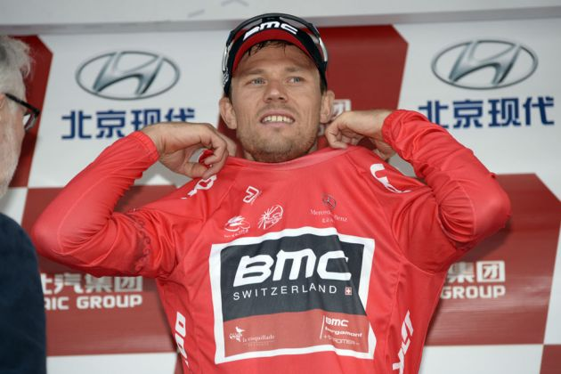 Thor Hushovd podium, Tour of Beijing 2013, stage one