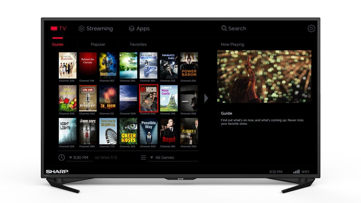 Sharp LC55UB30U 55-inch Aquos 4K Ultra HD TV Review   Tom's
