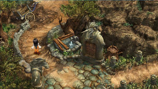 Final Fantasy IX upscale