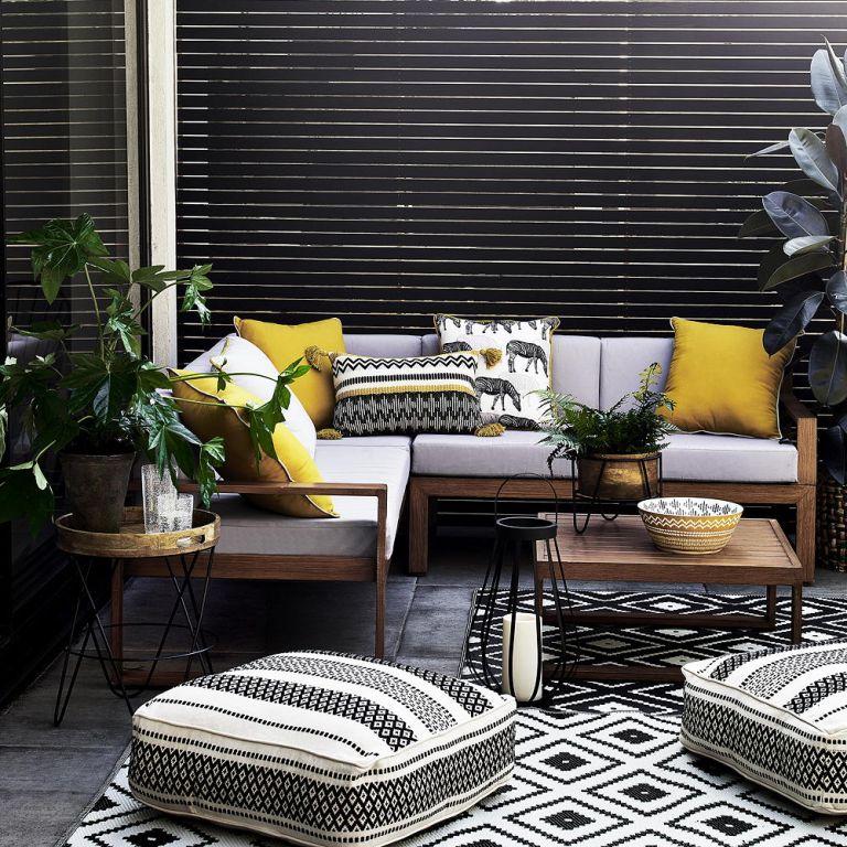 Monochrome patio by Argos