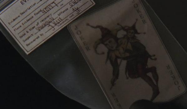 Batman Begins Joker Card