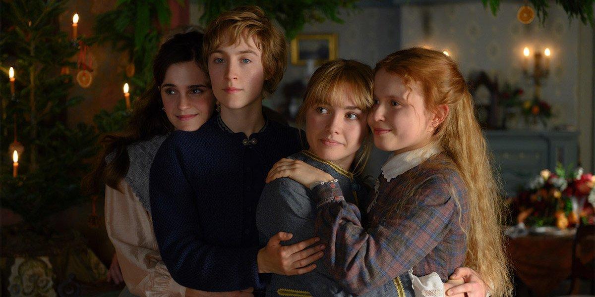 The March girls in Little Women