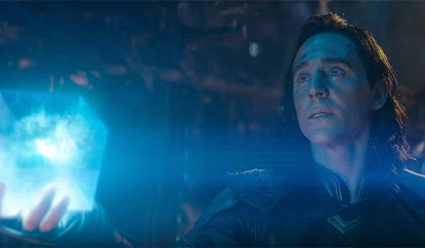 Loki offering Thanos the Tesseract