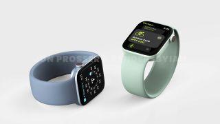 Renders van de Apple Watch Series 7
