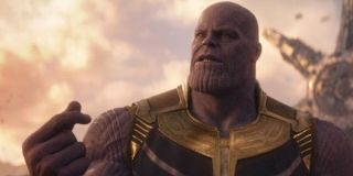 Thanos in Avengers: Infinity War