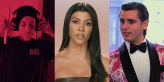 Travis Barker YouTube, Kourtney Kardashian and Scott Disick On Keeping Up With The Kardashians