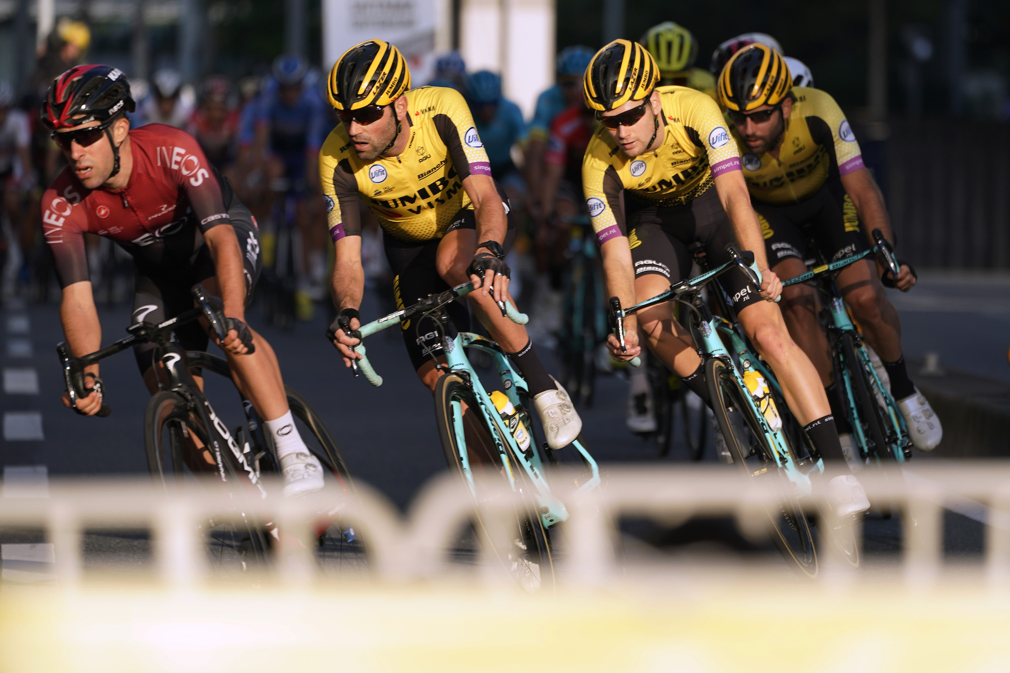 Other teams are bridging the gap to Ineos, says Jonathan Castroviejo