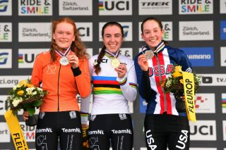 Madigan Munro secures bronze medal in junior women's race at 2020 UCI Cyclo-cross Worlds