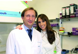 Alex Jones and Dr Carlos Simon in The Story of Fertility